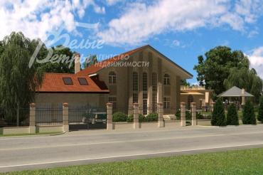 Продажа участка с готовым фундаментом под большой дом